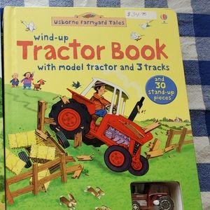 Kids Usborne Tractor book